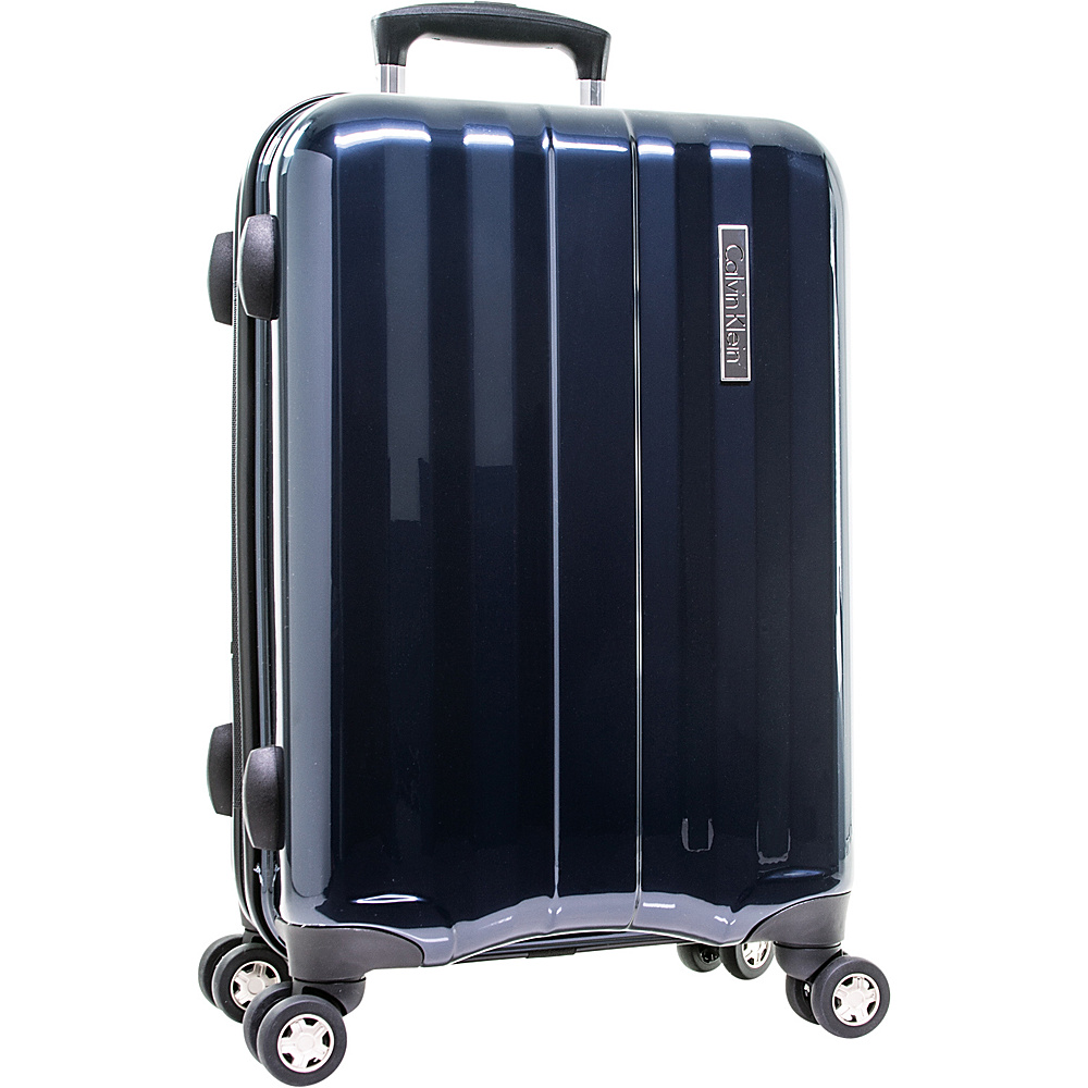 34c52e4ff Calvin Klein Luggage Excalibur 20 Expandable Carry-On Hardside Spinner  Luggage Navy - Calvin Klein