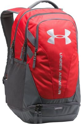 Under Armour Hustle 3.0 Laptop Backpack Red/Graphite/Silver - Under Armour Laptop Backpacks