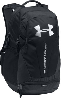 Under Armour Hustle 3.0 Laptop Backpack Black/Black/Silver - Under Armour Laptop Backpacks