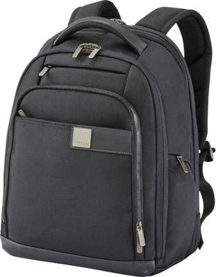 Titan Bags Power Pack Organizational 17 inch Laptop Backpack Black - Titan Bags Laptop Backpacks
