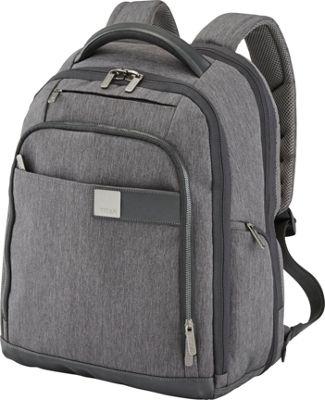Titan Bags Power Pack Organizational 17 inch Laptop Backpack Mixed Grey - Titan Bags Laptop Backpacks