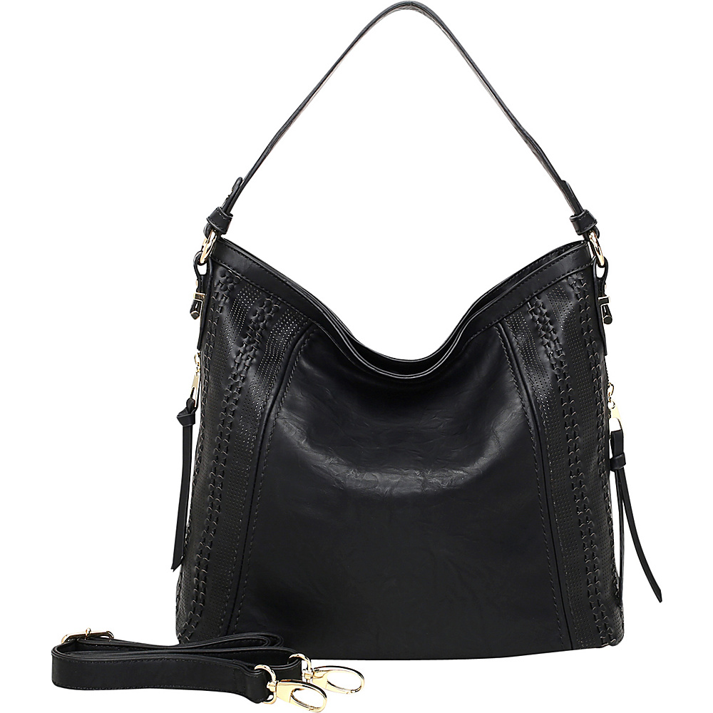 MKF Collection by Mia K. Farrow Skyler Hobo Black - MKF Collection by Mia K. Farrow Manmade Handbags - Handbags, Manmade Handbags