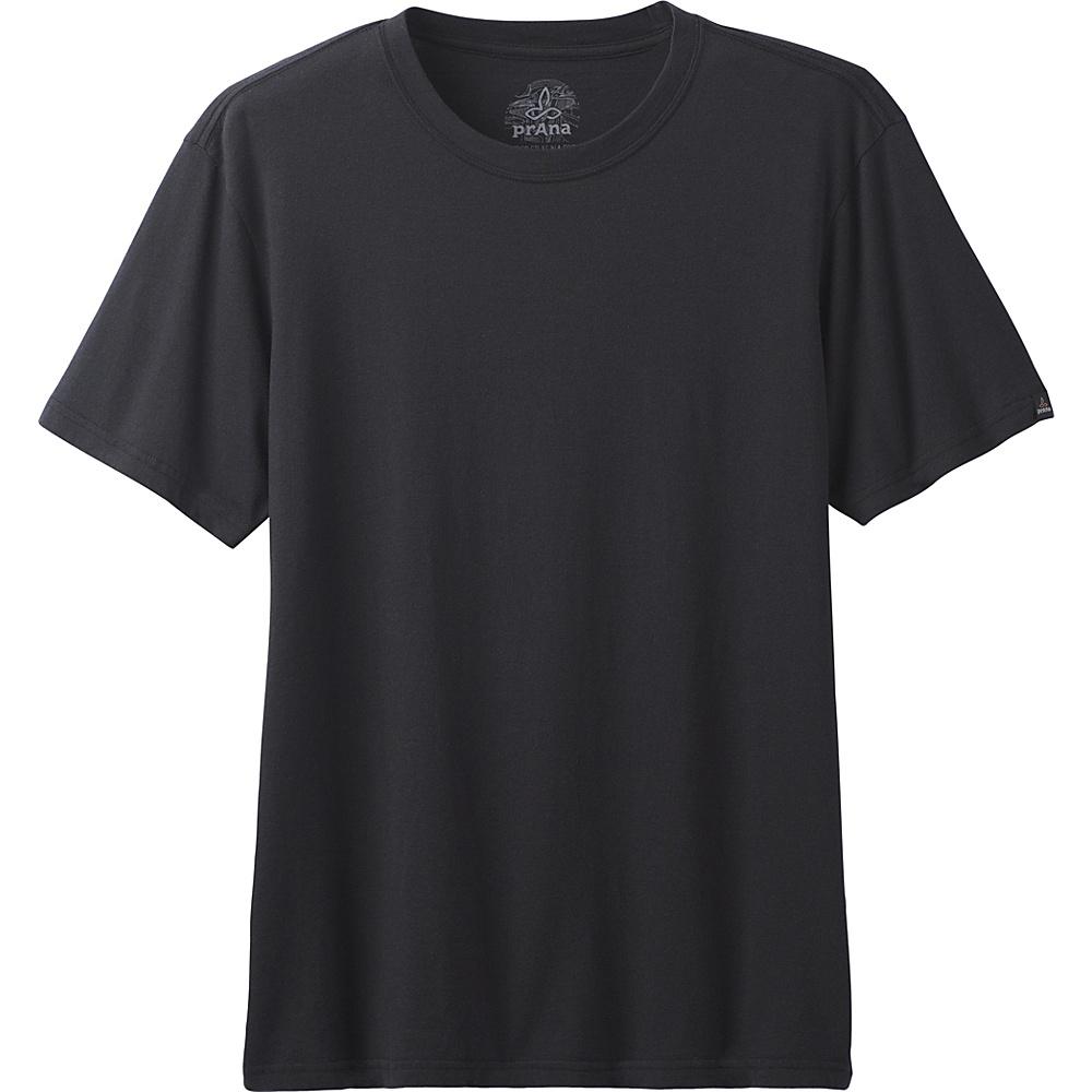 PrAna PrAna Crew Shirt XL - Black - PrAna Mens Apparel - Apparel & Footwear, Men's Apparel