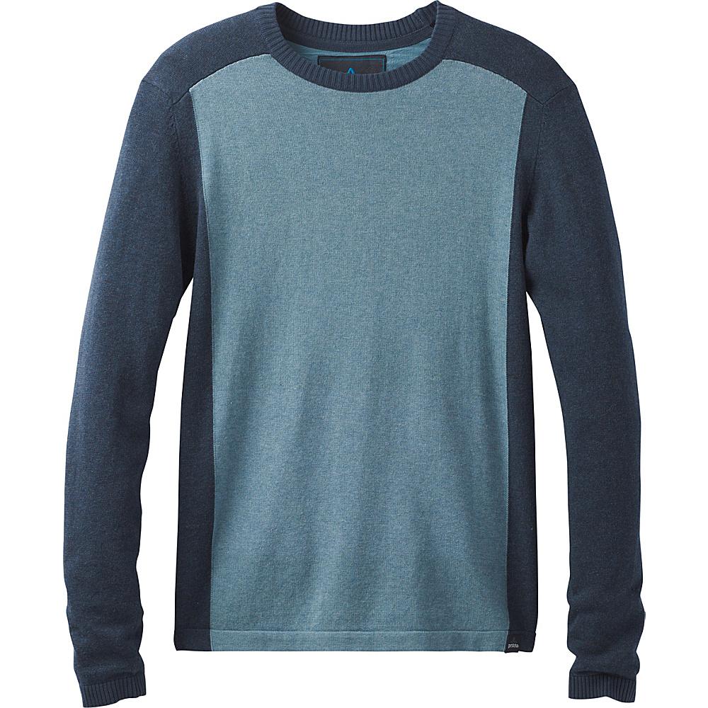 PrAna Corbin Sweater S - Bayou Blue - PrAna Mens Apparel - Apparel & Footwear, Men's Apparel