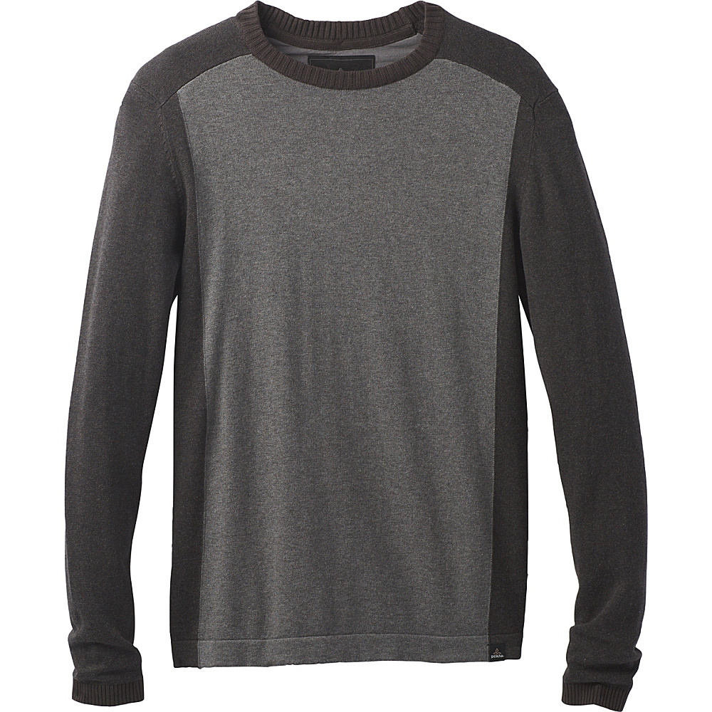 PrAna Corbin Sweater M - Gravel - PrAna Mens Apparel - Apparel & Footwear, Men's Apparel