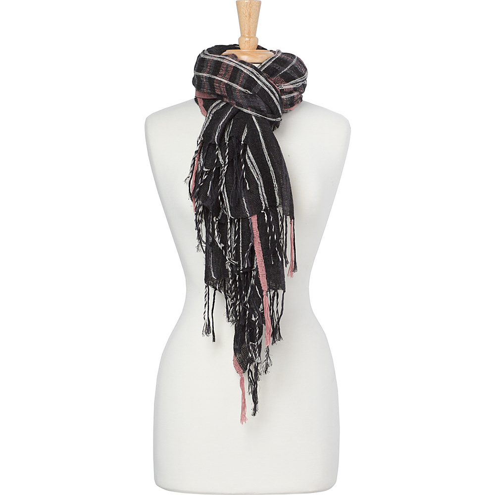 PrAna Lea Scarf Charcoal - PrAna Scarves - Fashion Accessories, Scarves