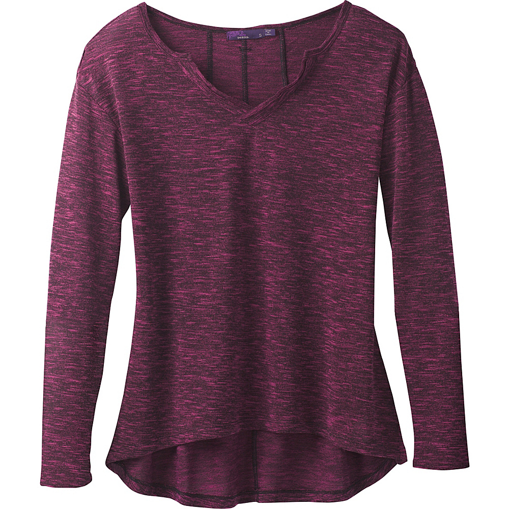PrAna Blythe Pullover M - Dark Plum - PrAna Womens Apparel - Apparel & Footwear, Women's Apparel