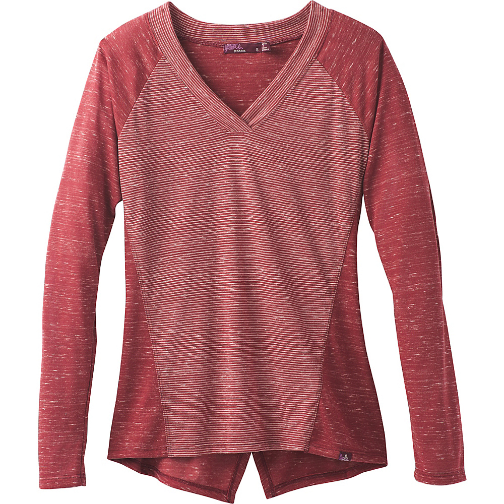 PrAna Jinny Top M - Woodland Red - PrAna Womens Apparel - Apparel & Footwear, Women's Apparel