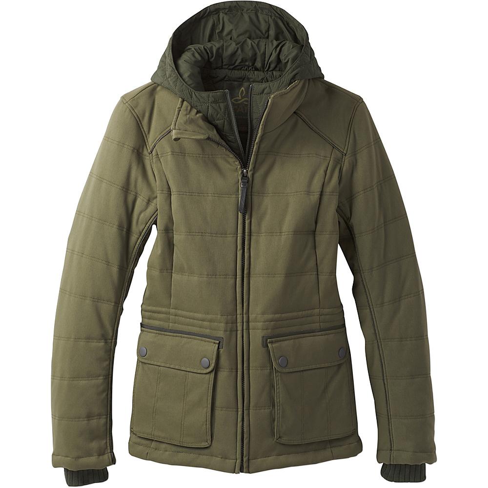 PrAna Halle Insulated Jacket XL - Cargo Green - PrAna Womens Apparel - Apparel & Footwear, Women's Apparel