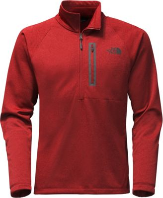 The North Face Mens Canyonlands 1/2 Zip L - Cardinal Red Heather - The North Face Men's Apparel