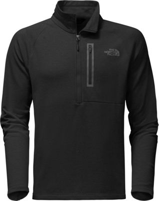 The North Face Mens Canyonlands 1/2 Zip XXL - TNF Black - The North Face Men's Apparel