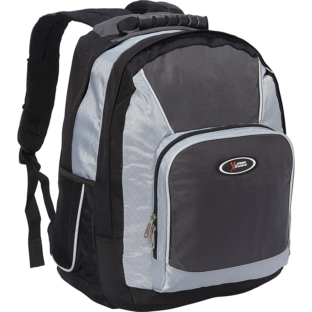 Everest Laptop Backpack Charcoal/Silver/Black - Everest Laptop Backpacks - Backpacks, Laptop Backpacks