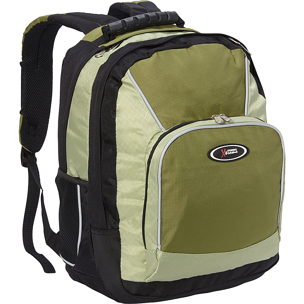 Everest Laptop Backpack Desert Green/Dark Green/Black - Everest Laptop Backpacks - Backpacks, Laptop Backpacks