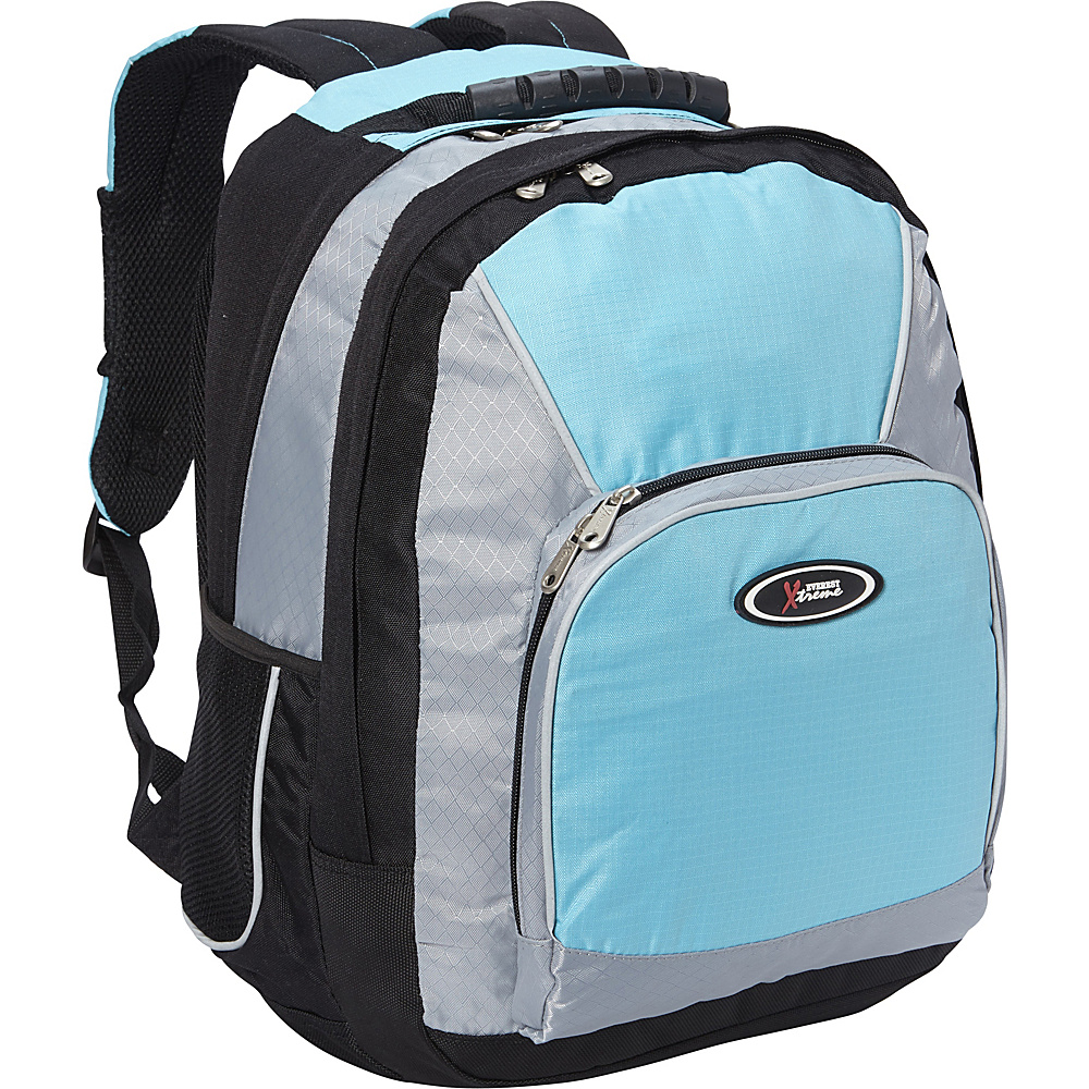 Everest Laptop Backpack Turquoise/Silver/Black - Everest Laptop Backpacks - Backpacks, Laptop Backpacks