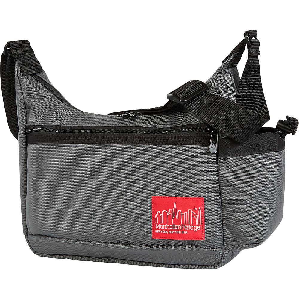 Manhattan Portage Clarkson Street Day Bag Gray - Manhattan Portage Designer Handbags - Handbags, Designer Handbags