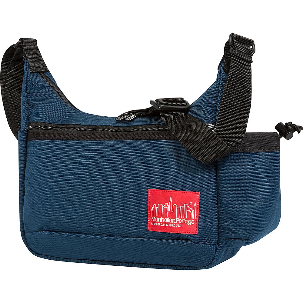 Manhattan Portage Clarkson Street Day Bag Navy - Manhattan Portage Designer Handbags - Handbags, Designer Handbags