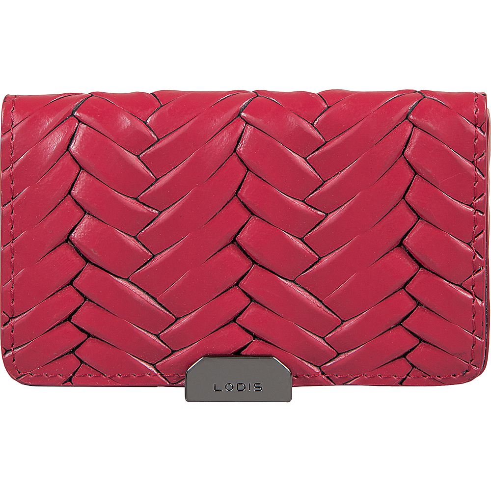 Lodis Nova RFID Mini Card Case Fuchsia - Lodis Womens Wallets - Women's SLG, Women's Wallets