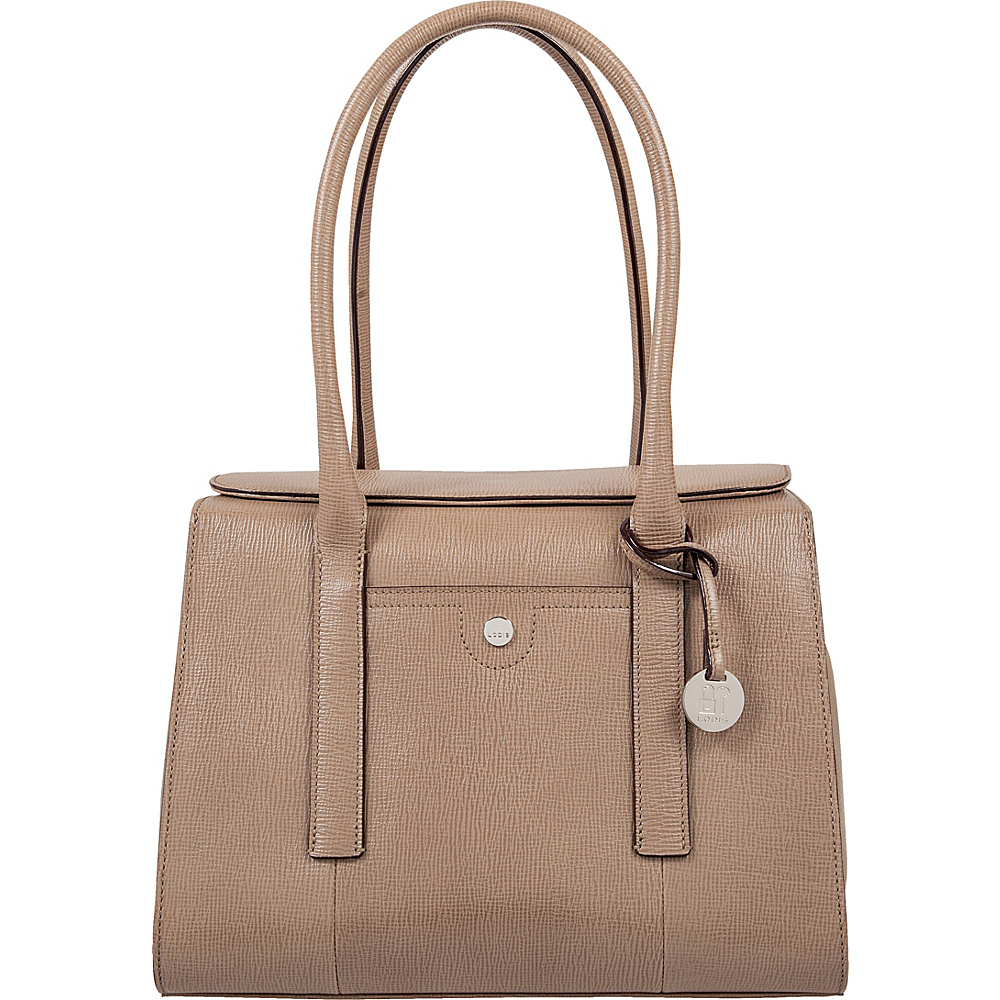 Lodis Business Chic RFID Paula Brief Taupe - Lodis Non-Wheeled Business Cases - Work Bags & Briefcases, Non-Wheeled Business Cases