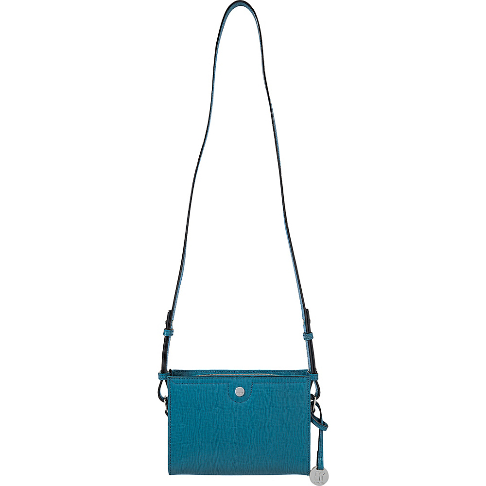 Lodis Business Chic RFID Pheobe Crossbody Peacock - Lodis Leather Handbags - Handbags, Leather Handbags
