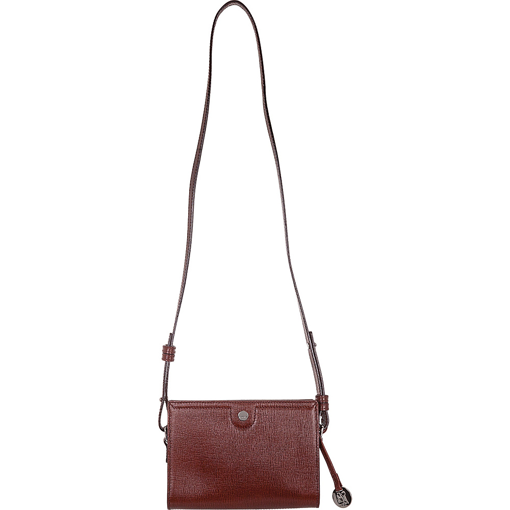 Lodis Business Chic RFID Pheobe Crossbody Russet - Lodis Leather Handbags - Handbags, Leather Handbags