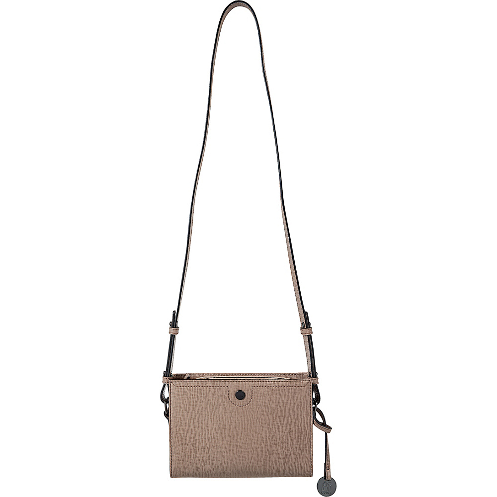Lodis Business Chic RFID Pheobe Crossbody Taupe - Lodis Leather Handbags - Handbags, Leather Handbags