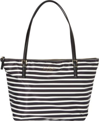 kate spade new york Watson Lane Maya Shoulder Bag Black/Clotted Cream - kate spade new york Designer Handbags
