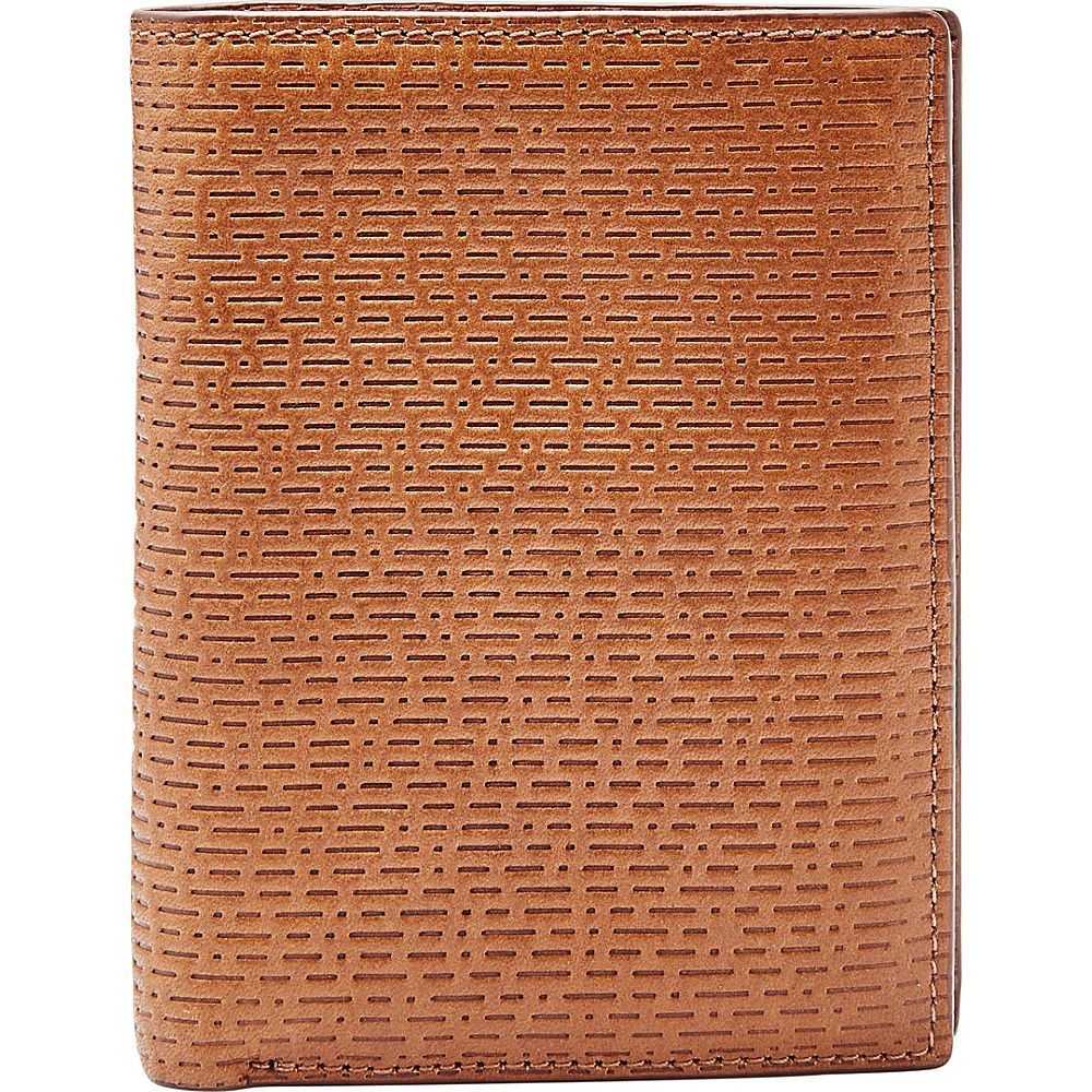 Fossil Coby RFID International Combination Cognac - Fossil Mens Wallets - Work Bags & Briefcases, Men's Wallets
