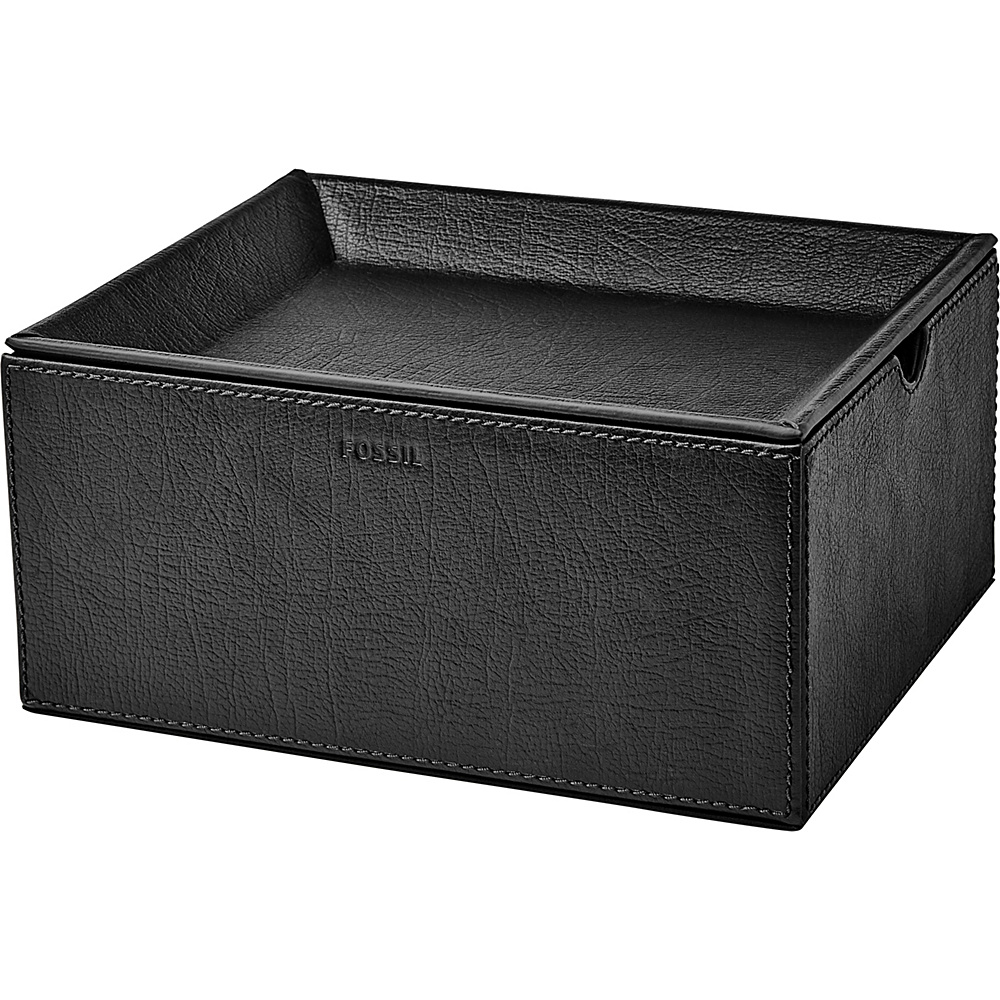 Fossil Five-Piece Valet Box Black - Fossil Business Accessories - Work Bags & Briefcases, Business Accessories