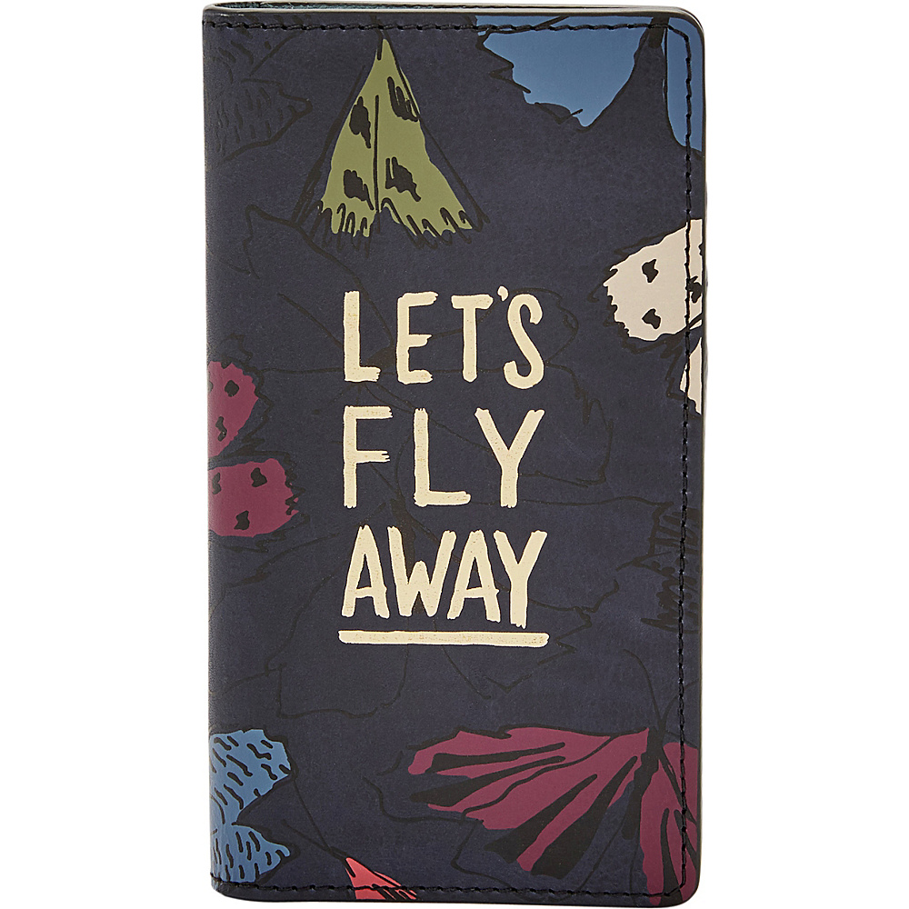 Fossil Magnetic Phone Case Navy Multi - Fossil Electronic Cases - Technology, Electronic Cases