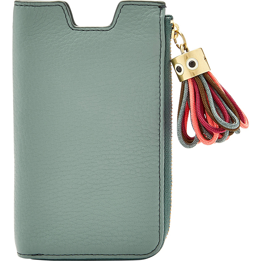 Fossil RFID Phone Sleeve Wallet Steel Blue - Fossil Electronic Cases - Technology, Electronic Cases