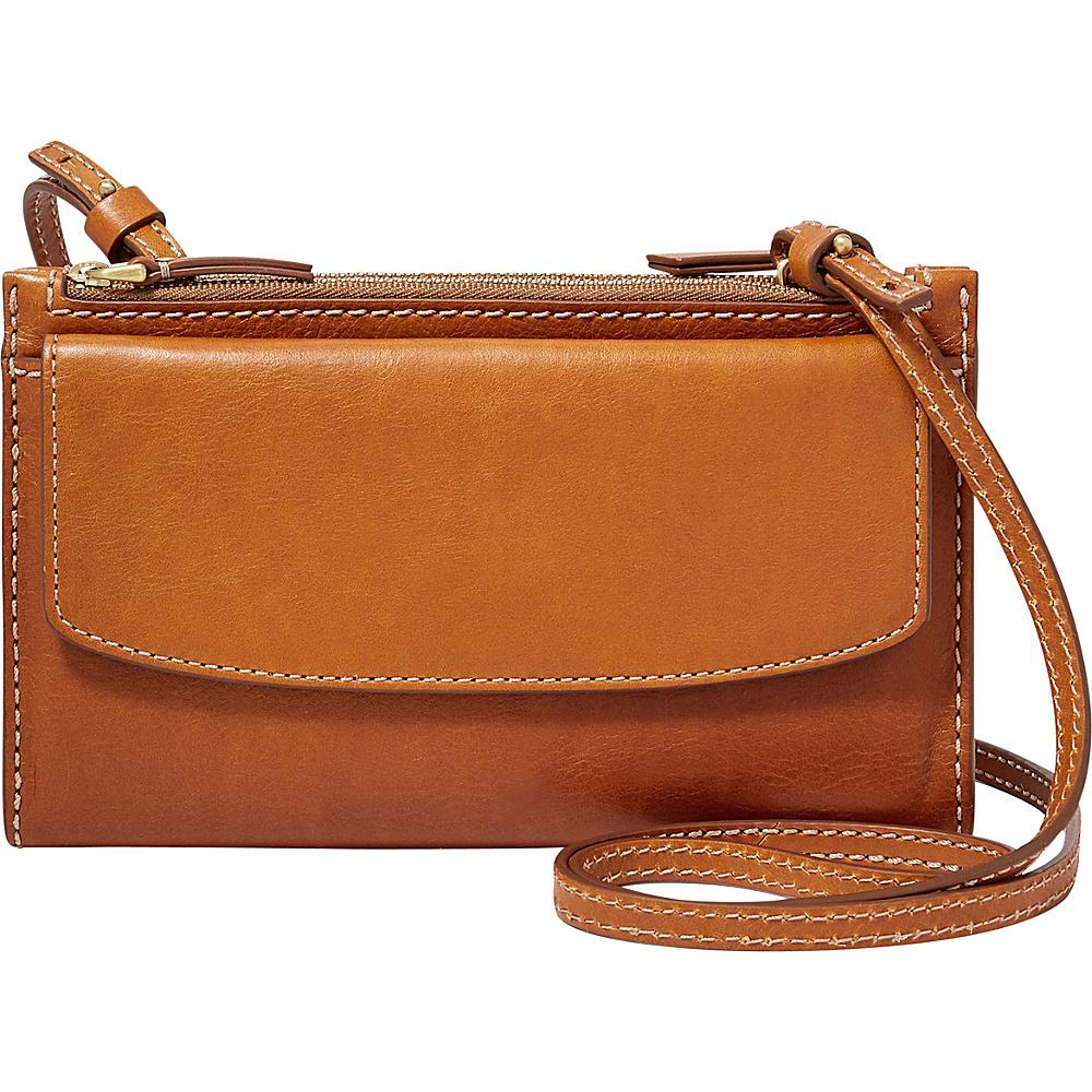 Fossil Sage Mini Bag Vintage Brown - Fossil Designer Handbags - Handbags, Designer Handbags