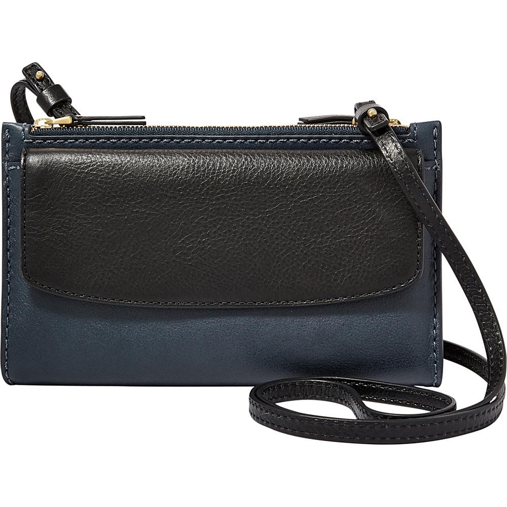 Fossil Sage Mini Bag Black Multi - Fossil Designer Handbags - Handbags, Designer Handbags