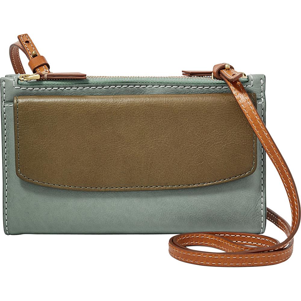 Fossil Sage Mini Bag Blue Multi - Fossil Designer Handbags - Handbags, Designer Handbags