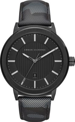 A/X Armani Exchange A/X Armani Exchange Street Watch Black Camo - A/X Armani Exchange Watches