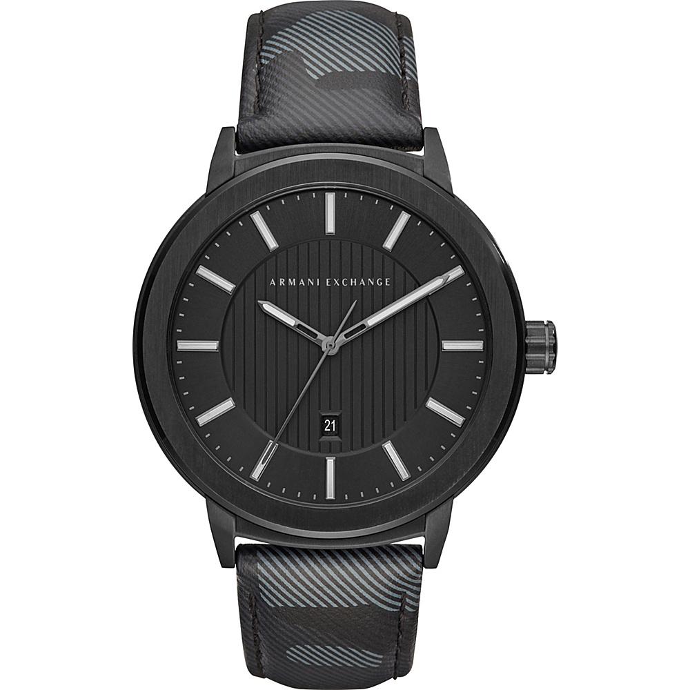 A/X Armani Exchange Street Watch Black Camo - A/X Armani Exchange Watches