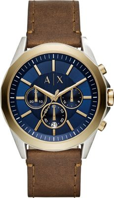 A/X Armani Exchange A/X Armani Exchange Dress Watch Brown - A/X Armani Exchange Watches