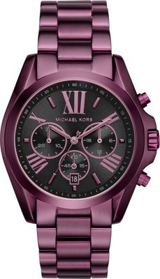 Michael Kors Watches Bradshaw Chronograph Watch Plum - Michael Kors Watches Watches