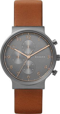 Skagen Ancher Chronograph Brown - Skagen Watches