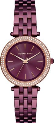 Michael Kors Watches Mini Darci Three-Hand Watch Purple - Michael Kors Watches Watches
