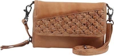Day & Mood Angel Mobile Crossbody Camel - Day & Mood Leather Handbags