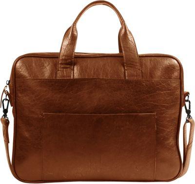 Still Nordic Champ Brief 1 Room Shoulder Bag Cognac - Still Nordic Designer Handbags