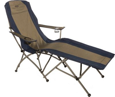 Kamp Rite Soft Arm Lounger Blue / Khaki - Kamp Rite Outdoor Accessories