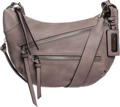 Hush Puppies Bett Crossbody Stone - Hush Puppies Leather Handbags