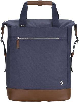 Vessel Refined Tote Backpack Navy - Vessel Laptop Backpacks