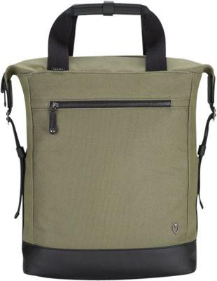 Vessel Refined Tote Backpack Olive - Vessel Laptop Backpacks