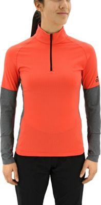 adidas outdoor Womens Xperior Active Top XL - Easy Coral/Dark Grey Heather - adidas outdoor Women's Apparel