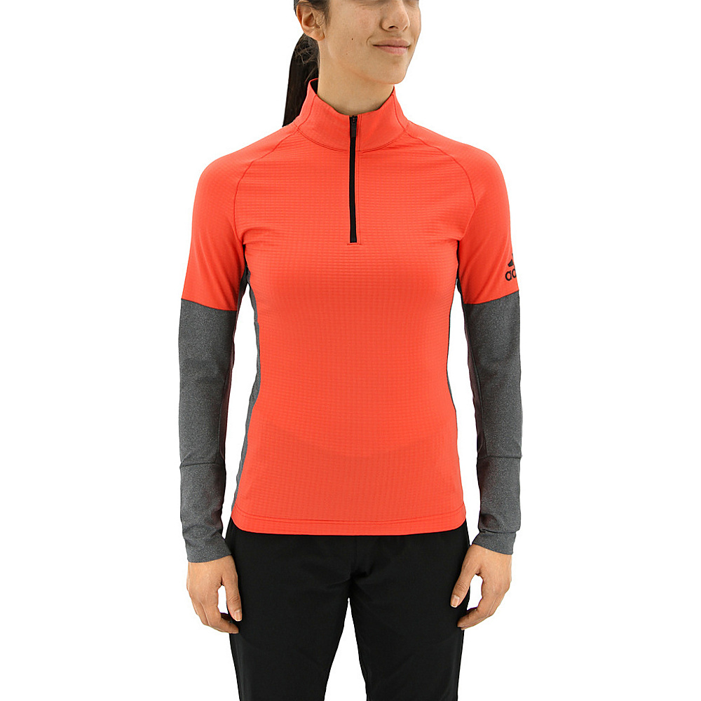adidas outdoor Womens Xperior Active Top L - Easy Coral/Dark Grey Heather - adidas outdoor Womens Apparel - Apparel & Footwear, Women's Apparel