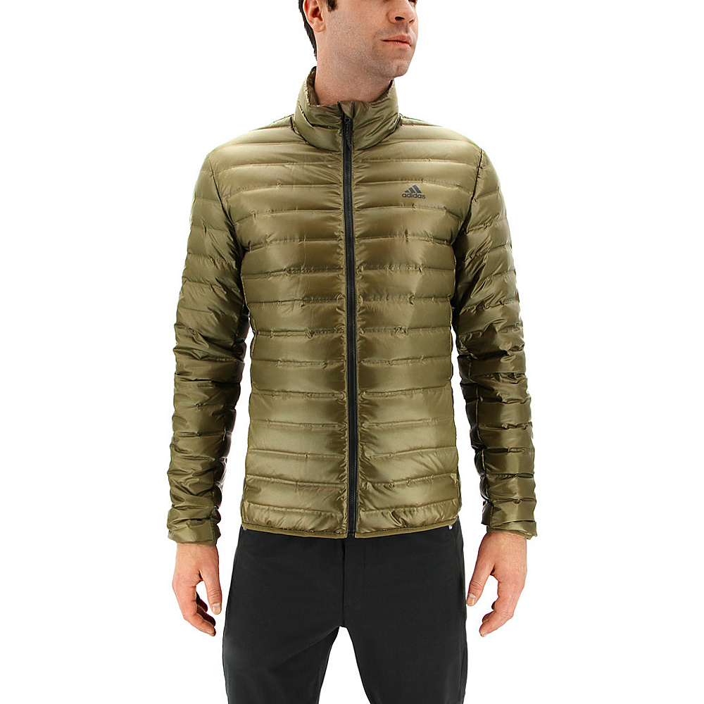 adidas outdoor Mens Varilite Jacket L - Trace Olive - adidas outdoor Mens Apparel - Apparel & Footwear, Men's Apparel