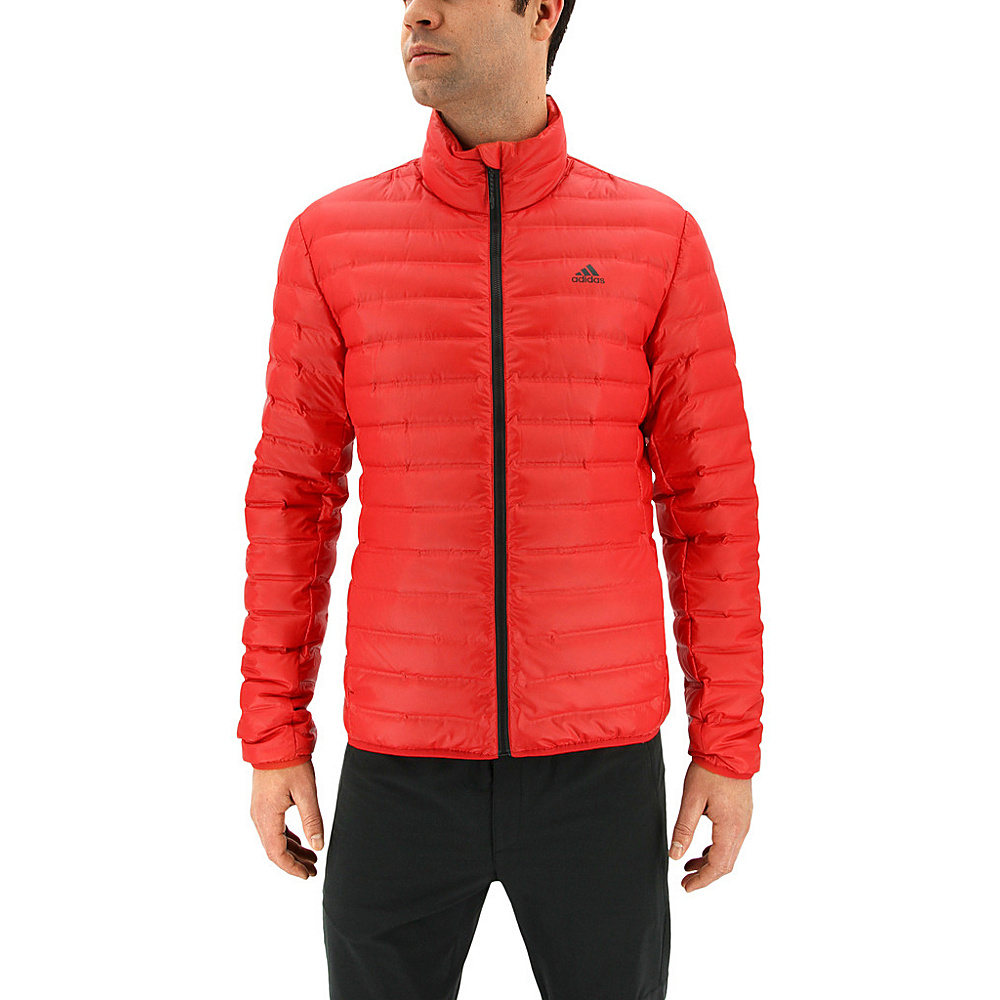 adidas outdoor Mens Varilite Jacket XL - Scarlet - adidas outdoor Mens Apparel - Apparel & Footwear, Men's Apparel