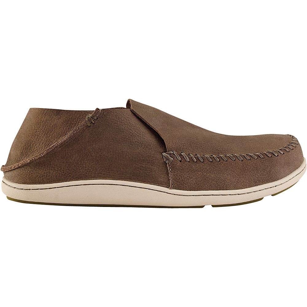 OluKai Mens Akahai Slip-On 16 - Clay/Clay - OluKai Mens Footwear - Apparel & Footwear, Men's Footwear